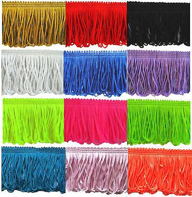 """Fringing / Fringe Dress Loop Trimming 50mm (2"""") Choose Length & Colour"""