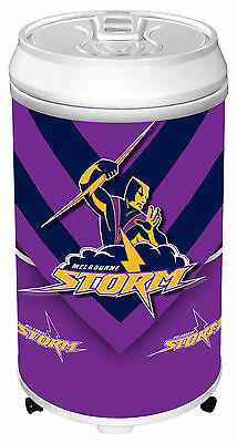 NRL Rugby League MELBOURNE STORM Can Bar Fridge for Man Cave Pool cue Room