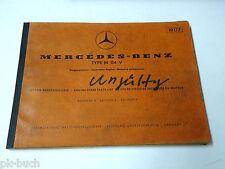 Teilekatalog Parts List Mercedes Benz Vergaser-Motor M 114 V / 8 W114 St.1970