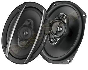 """450W MAX NEW PIONEER TS-A6960F 6/"""" x 9/"""" 4-WAY CAR AUDIO SPEAKERS PAIR"""
