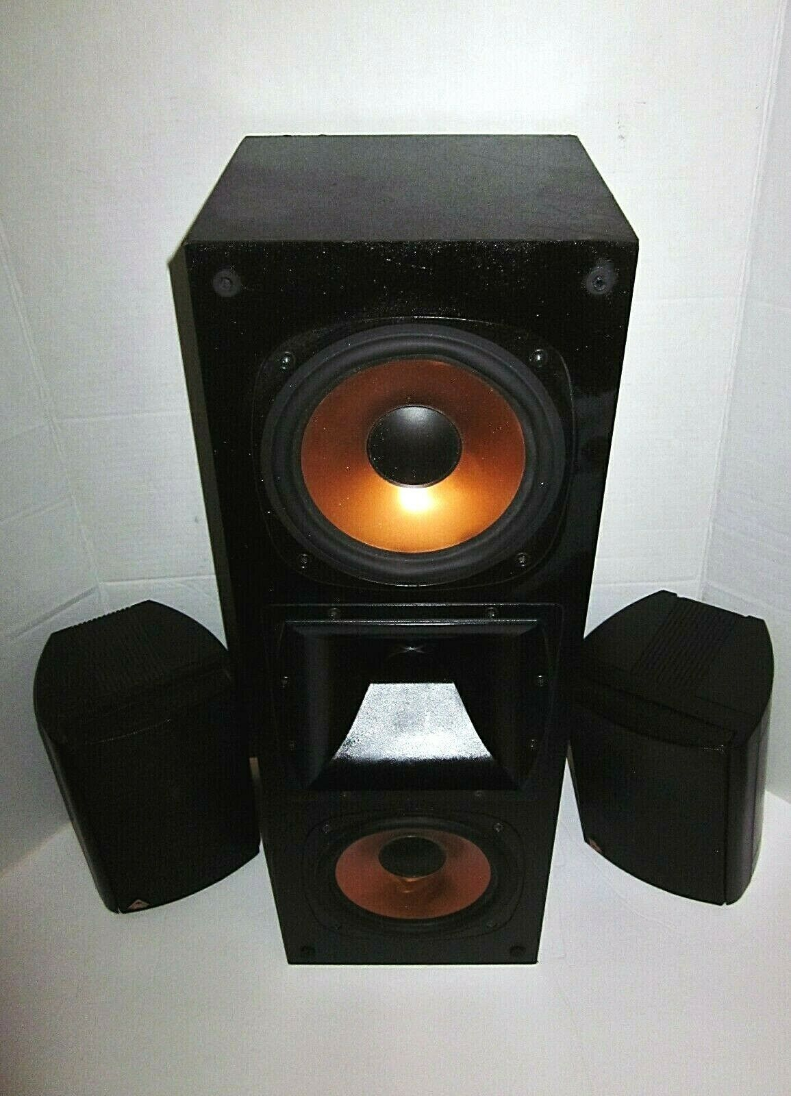 1 Klipsch RC3 II Center Speaker & 2 Klipsch Surround Sound Speakers 120104x