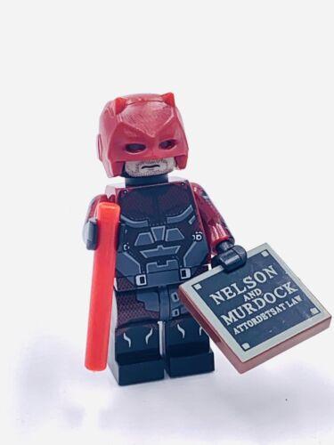 Daredevil Custom Figure #377 US SELLER - FITS LEGO