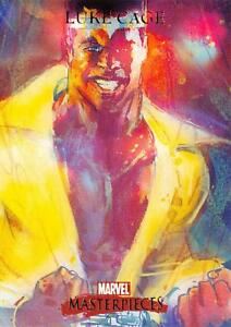 LUKE-CAGE-2007-Marvel-Masterpieces-BASE-Trading-Card-52