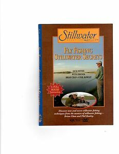 New-deal-Stillwater-12-DVD-Fly-Fishing-and-fly-tying-collection-Phil-amp-Brian