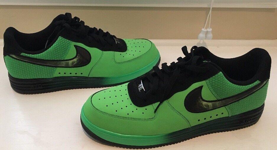 994ac62d459c ... best price nike lunar force 17 1 lthr poison green black size 17 force  580383 300