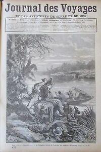 Zeitung-der-Voyages-472-von-1886-Exploration-Guyana-Amazonas-Exposition