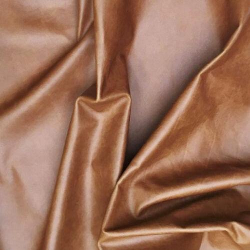 Leather Cowhide Pull-Up 1 mm Thick 20cm x 15cm Claret Antique Tan Golden Tan