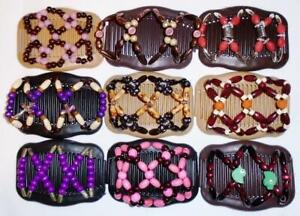 """US SELLER Quality S35 African Butterfly Magic Angel Wings Hair Clips 4x3.5/"""""""