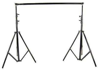 Photography 2.6m*3m Metal Backdrop Stand Background Support System Carrying Bag