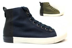 Scarpe-da-uomo-Calvin-Klein-Jeans-SO377-casual-sportive-alte-sneakers-taglia-40