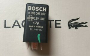 02-11 Glow Plugs 9-Pin Relay No 457 038907281B Bosch 0281003032 597-Audi VW AG