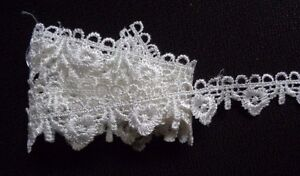 7//8 inch wide black color selling by the yard Venise Lace