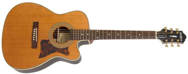 epiphone masterbilt ef 500rcce acoustic electric guitar for sale online ebay. Black Bedroom Furniture Sets. Home Design Ideas