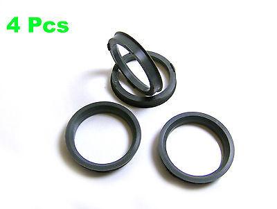 4 x anillas de centrado exterior 73,1 mm-interior 58,1 mm Spigot Rings