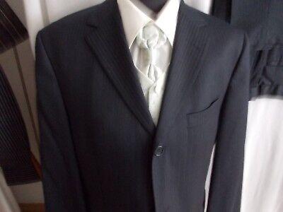 Billiger Preis Herrenanzug Nachtblau Gr. 50/52 Anzug Hochzeit Hose Blazer Festlicher Anzug