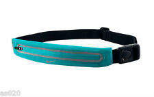 Nike Lean Correr Waistpack ampliable Reflectante Deportes Riñonera Cinturón Verde de Jade