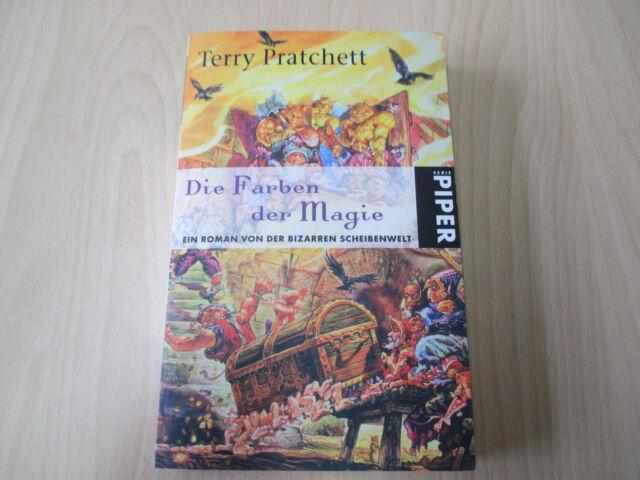 Terry Pratchett - DIE FARBEN DER MAGIE - Scheibenwelt-Roman - TB Piper - (16995)