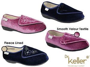 d796018dec63 Image is loading Ladies-Dr-Keller-Diabetic-Orthopaedic-Wide-Fit-Adjustable-