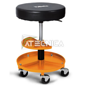 Chair Revolving Mens Workshop Seat beta 2250-O With Tray Holder Small Parts