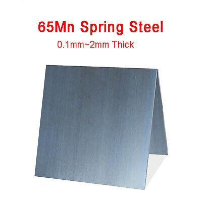 65Mn High Carbon Spring Steel Plate Strip 0.1mm x 115mm x 1000mm