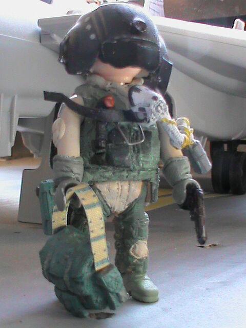 PLAYMOBIL PERSONNALISÉ US PILOTE F-14 TOMCAT (IRAK-2006) REF-0194 BIS   con il prezzo economico per ottenere la migliore marca