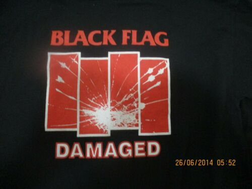 black flag damaged XL