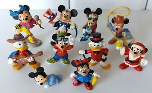 Vintage-Disney-Bullyland-Mickey-Mouse-Donald-Duck-Scrooge-Minnie-Figures
