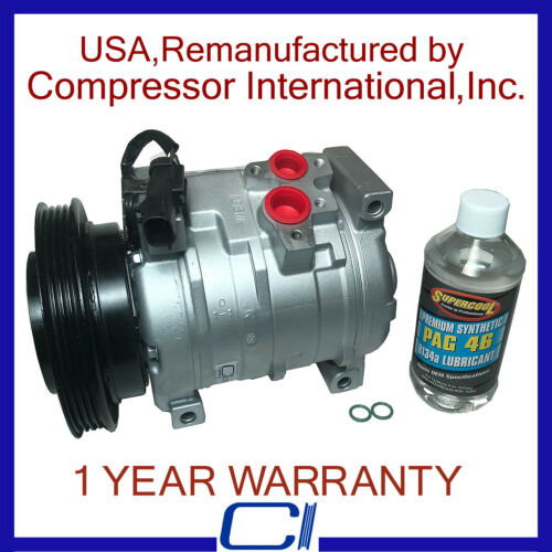 10S15C Compressor 2001-2010 Pt Cruiser 2.4L OEM Reman A//C Compressor