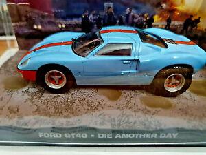 Ford-GT40-007-La-Morte-puo-Attendere-Scala-1-43-Fabbri-007-Nuova