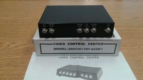 c61-4220 Video control center model:380030