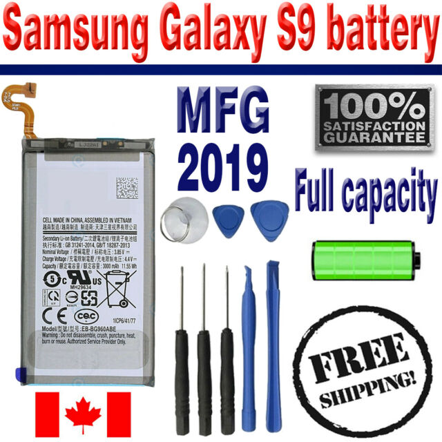 Brand NEW Original OEM Replacement Battery Samsung Galaxy S9 with Free Tools
