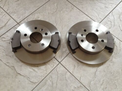 FORD FOCUS C MAX  03--10 TWO 265 MM OR 280 MM REAR BRAKE DISCS /&  4 BRAKE PADS