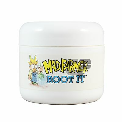 2oz Mad Farmer Root It Clone Gel Hydroponic Transplant Plant Rooting Compound