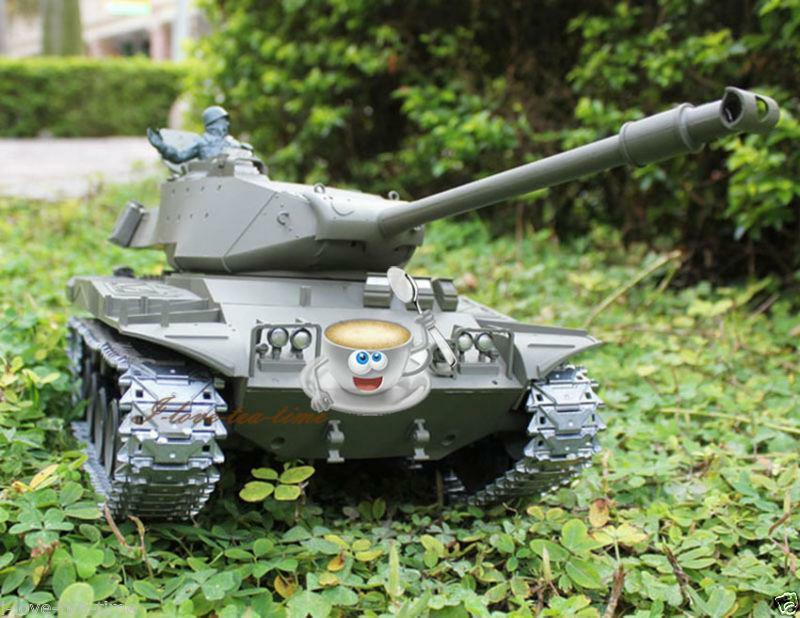 HengLong 2.4G Upgraded Metal Ver USA Walker Bulldog 1 16 scale Tank 3839-1 Model
