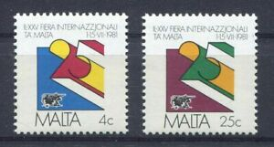 S8249) Malta 1981 MNH Malta International Fair 2v