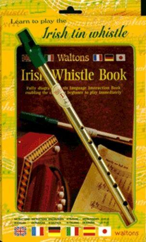 WALTONS Irish Tin Whistle in D mit Lehrheft