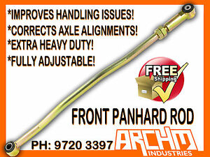 TOYOTA-LANDCRUISER-76-78-79-SERIES-V8-FRONT-ADJUSTABLE-PANHARD-ROD-OD-33MM