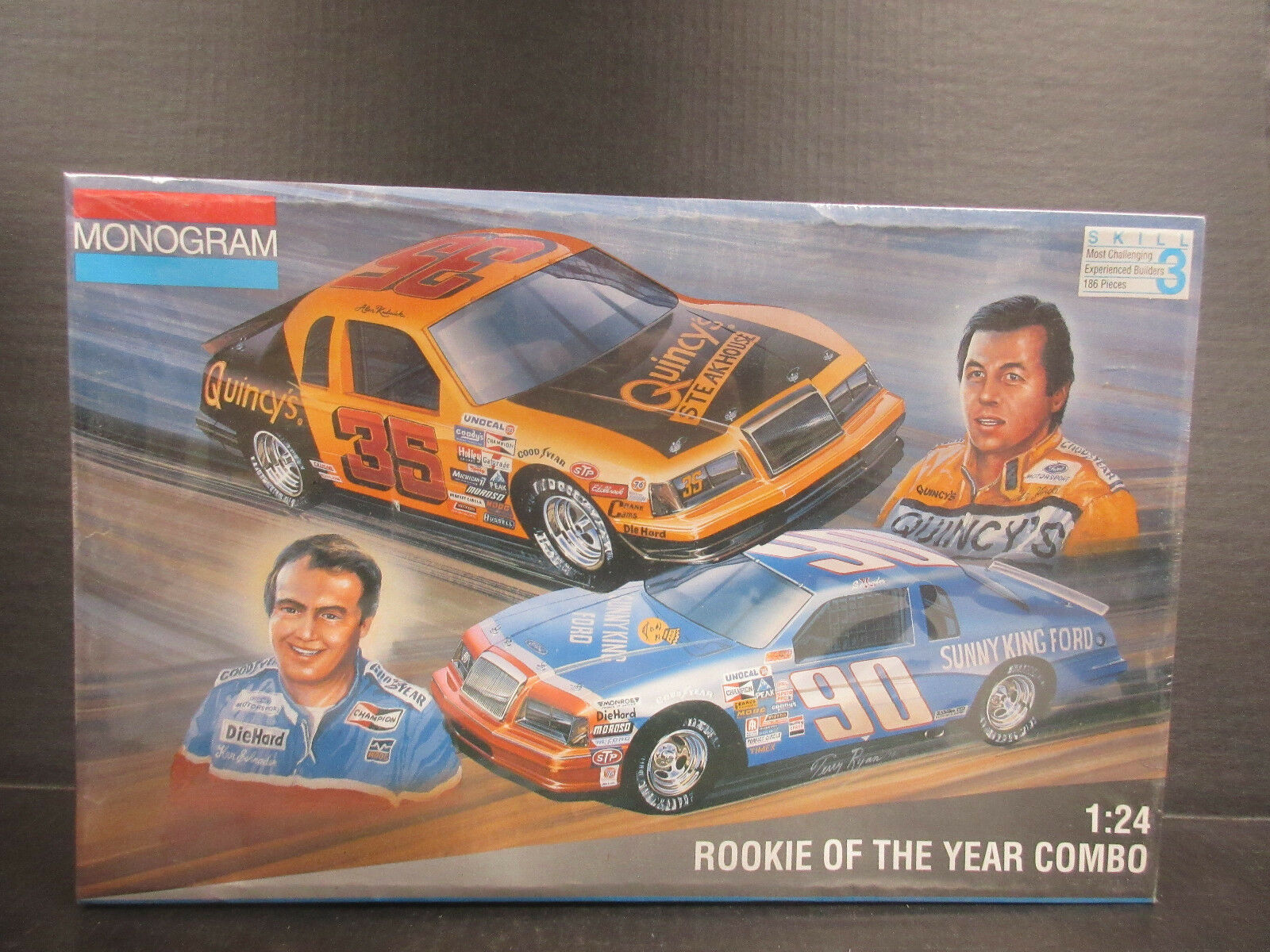 1994 Monogram Rookie of the Year Combo 1:24th Model Kits  6368