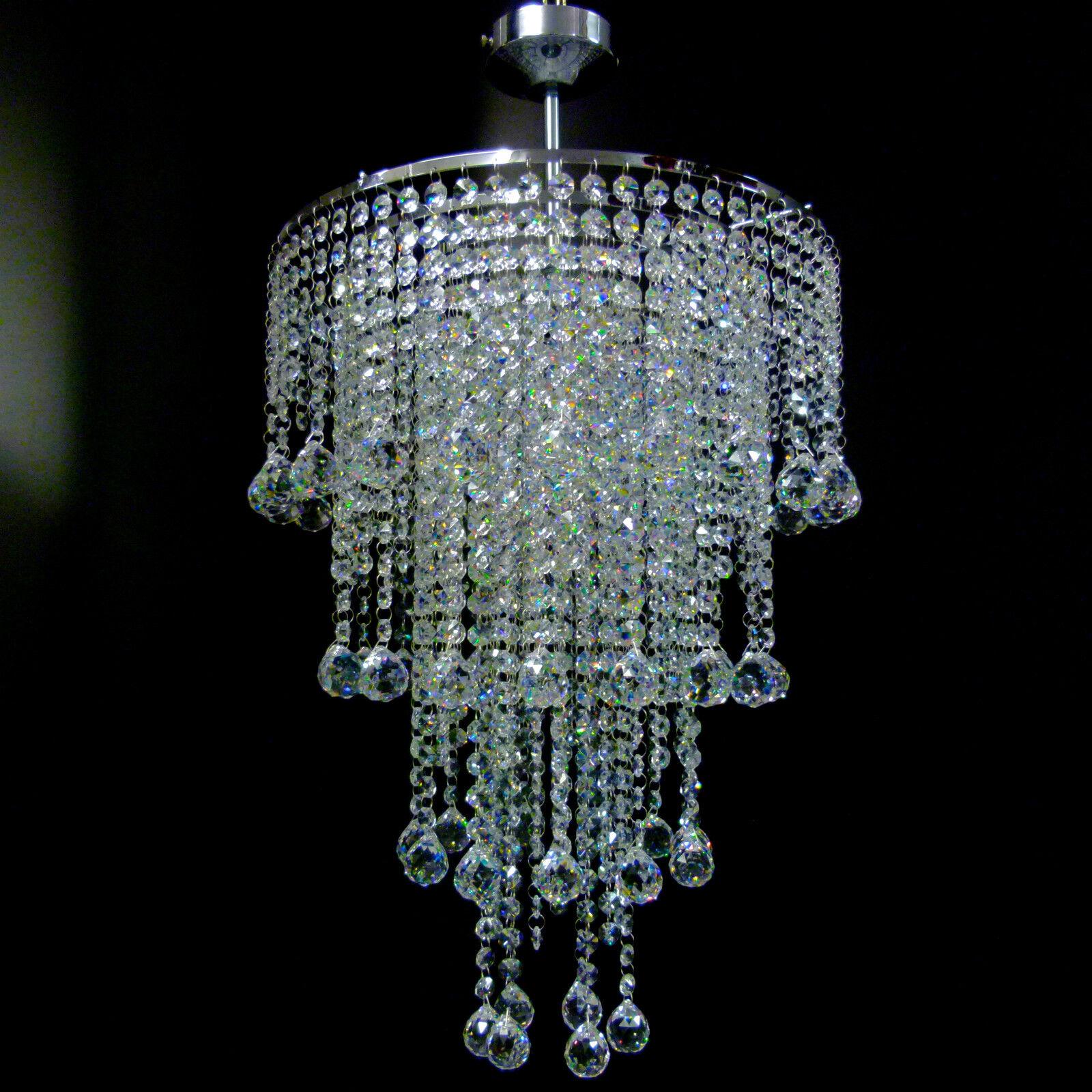 de techo Cromo Luces Vidrio Cristal Luz Plomo De ball mN8Ovn0wPy
