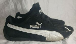 Details about Vintage Puma Speed Cat SD US Womens Sneaker style#300521 01  Black/White Size 9