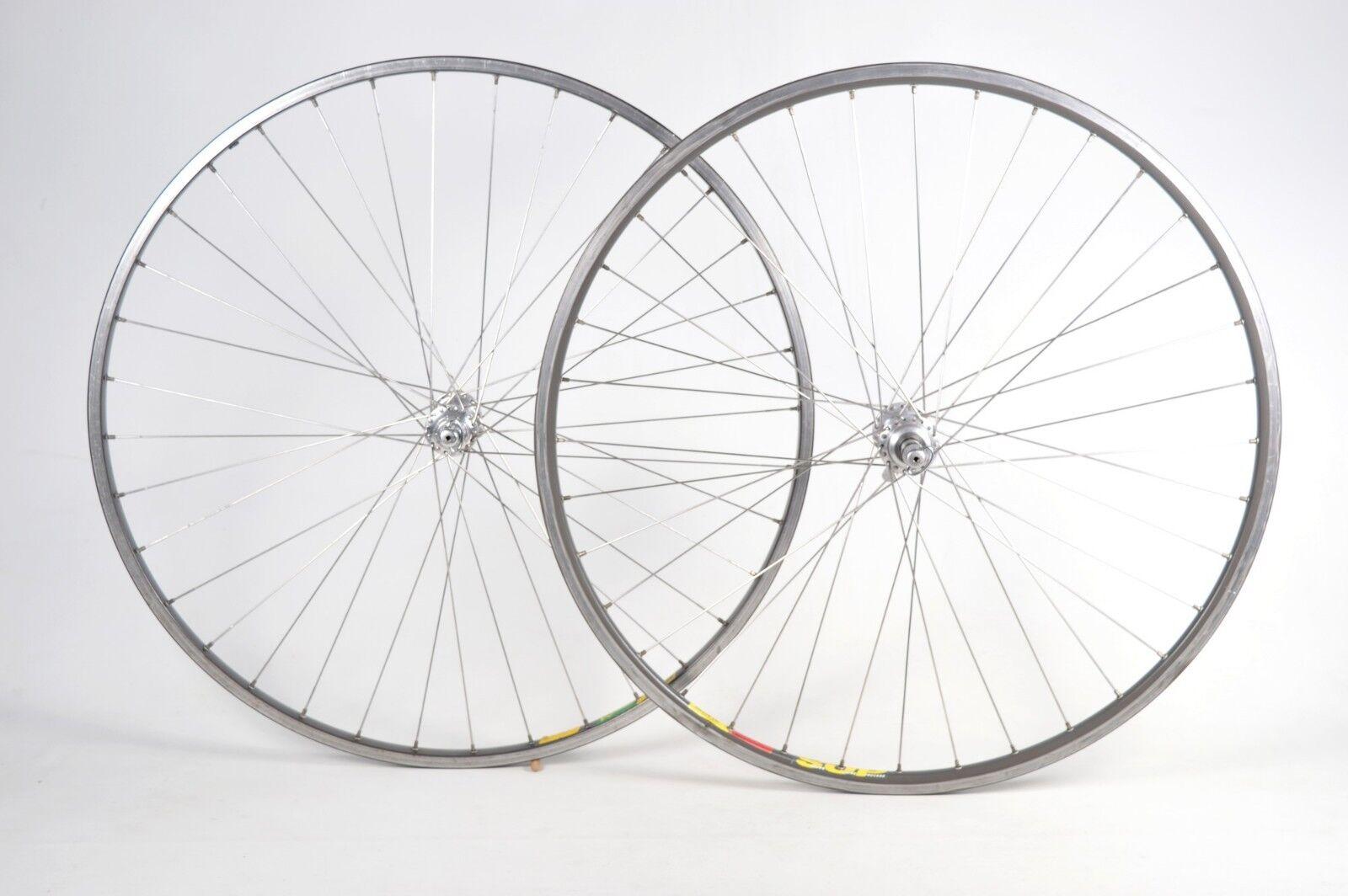 Campagnolo C -Record Cycle Hubs Mavis Rims 70C Hjulpar 36H Cykelhjul