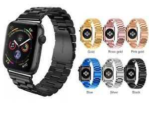 For-Apple-Watch-Series-3-2-1-Stainless-Steel-Wrist-iWatch-Band-Strap-38-42mm