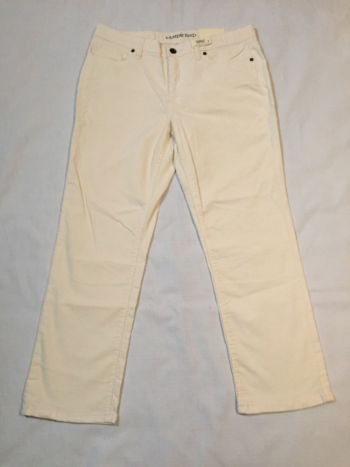 Lands' End Women's Corduroy Straight Leg Pants Size 10 New with Tags