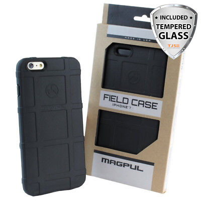 Magpul Field Polymer Case For Apple iPhone 8 7 Plus 100% Genuine+Tempered Glass