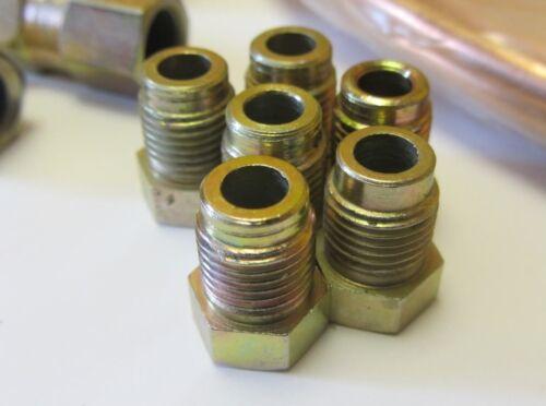 ROVER Maestro 83-95 BRAKE 25ft Pipe Repair JOINER MALE ENDS FEMALE COPPER