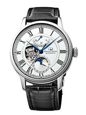 NEW ORIENT STAR Mechanical Moon Phase Mechanical self-winding white RK-AM0001S