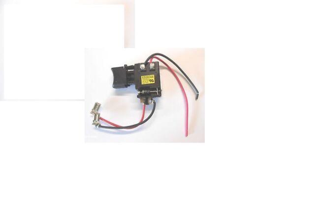 Neu Schalter Makita 650604-4 BDF453 BHP453 original 18V