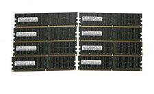 LOT 32GB (8x4GB) SAMSUNG  DDR2 RAM ECC REG 667 Mhz M393T5160QZA  Reg server only