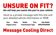 Dual Radiator /& Condenser Cooling Fan Assembly for 96-98 Nissan Quest//Villager