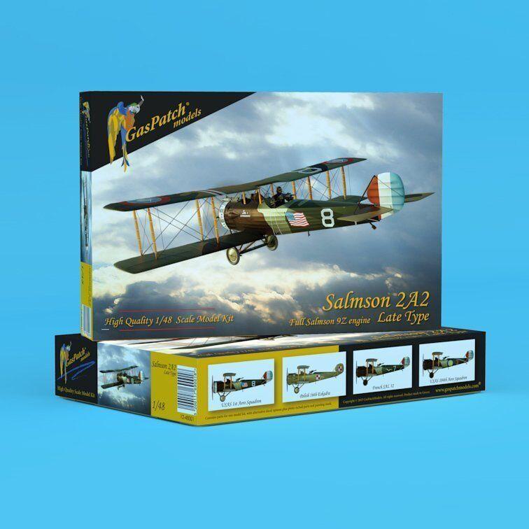 GasPatch modellllerler 4801 1  48 Salmson 2A2, Late Version